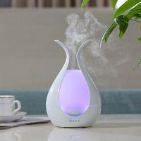 New arrivals 2019 amazon fashionable home essential oil ultrasonic aromatherapy unique led light ele thumbnail image