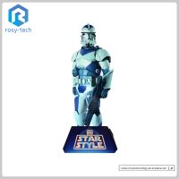 Promotional Toy Advertising Cardboard Custom Shape Standees Cutouts,Corrugated Stand Display thumbnail image