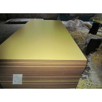 Orange Color Melamine MDF