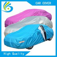 hot sell factory custom zipper printing car cover with logo