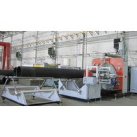 BIG CALIBRE WINDING PPIPE EXTRUTION LINE