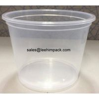 Food grade polypropylene bucket for yogurt