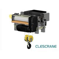CH Series Mathced for single girder crane electric hoist with wireless remote from China crane thumbnail image