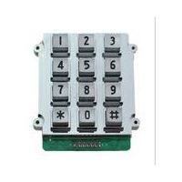 3x4 matrix cheap metal keypad