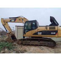 Used Japan Original CAT 324D Crawler Excavator