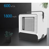 Portable Mini Air Conditioner Cooling Fan Low Noise Purifier Humidifier Class A