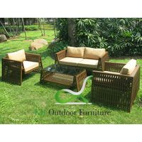 Garden Sofa Outdoor Metal Furniture Sets