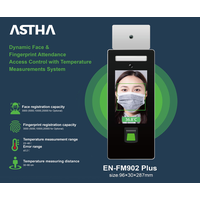 ASTHA EN-FM902 Plus Dynamic Face Recognition with Fingerprint Time Attendance Access Control Systems thumbnail image