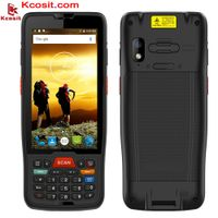 1D 2D PDA Barcode Scanner Android 9.0 QR Code Reader Numeric Keyboard Wireless Handheld POS thumbnail image