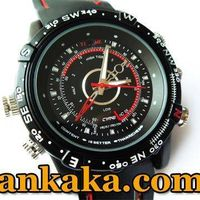 Waterproof 2.0MP 30fps 1280x960 Spy Fashion Watch Digital Video Recorder with Hidden Camera - 4GB thumbnail image