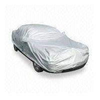 Silver fabric car cover thumbnail image