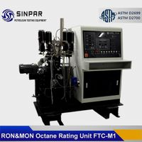 Combination research and motor method octane rating unit SINPAR FTC-M1