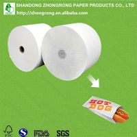 RECYCLABLE paper for food packaging