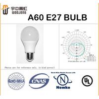 A60 9w LED bulb CRI>80,110-240V,Philips&Osram,80lm/w 2700/6500K