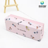 Customized full color printed cardbord gift packaging box