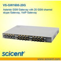 asterisk gsm gateway with 20 gsm channel skype gateway, voip gateway