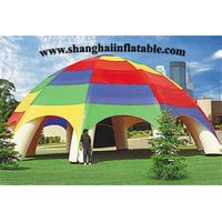 New Products Colorful Inflatable Air-Sealed Dome Tent, Arch Lawn Tent on Sale