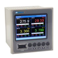 MPR400:4 Channels Digital Paperless Temperature and Humidity Recorder