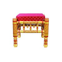 wooden sitting stool thumbnail image