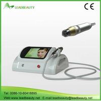 Microneedle Fractional RF Skin Rejuvenation Machine for spa / hospital Invasive Treatment