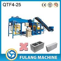 QTF4-25 automatic fly ash concrete brick making machines for sale thumbnail image