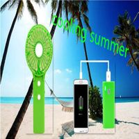 Manufacturer Selling New Style USB Chargable Fan with Charging Treature