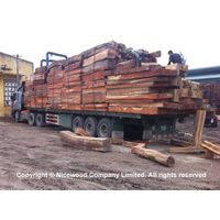 Red rosewood square log