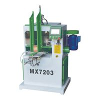 Automatic wood copying shaper machine