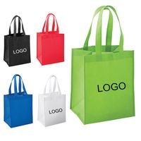Non woven recycled shopping tote bag thumbnail image
