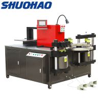 Copper busbar bending machine Electric hydraulic hole puncher thumbnail image