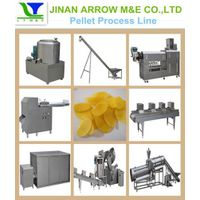 Screw/Pellet/Chips Extruding&Frying Process Line thumbnail image