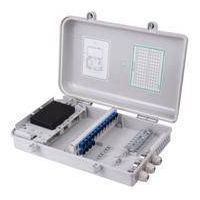 outdoor/indoor 24 core FTTH Fiber optic plastic Distribution box PC/ABS