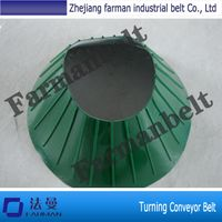 Turning PVC conveyor belt