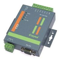 C52E/C53 RS-232 to RS-422/485 Converters (with Optical Isolation (C53)) thumbnail image