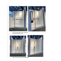 walk in fixed panel shower panel glass wet room showers