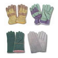 industrial leather work gloves thumbnail image
