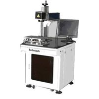 Lowest Price Fiber Laser Marking mahine for Metal Material and non- Metal thumbnail image
