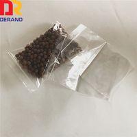 plastic antistatic storage bag reclosable PE zipper bag
