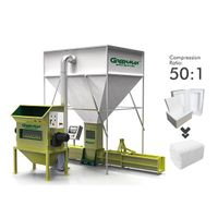 GreenMax Styrofoam (EPS/Polystyrene) Compactor APOLO C300
