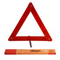 China factory haoxing roadway safety reflective warning triangle