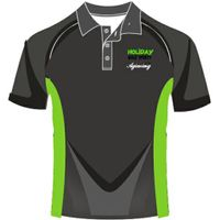100% polyester customized polo shirt