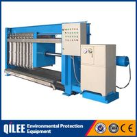 2014 new chamber continuous filter press for sewage treatment