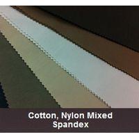Cotton, Nylon Mixed Spandex