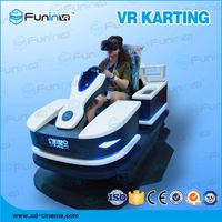 selling 2018 new product VR RACING KART game machine with VR helmet thumbnail image
