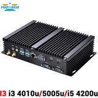 2 COM Industrial Rugged Mini PC Server with Intel Core i3 4010u 5005u i5 4200u Processor 4USB3.0 Wi thumbnail image