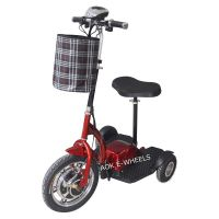 Three Wheel Electric Scooter, Electric Tricycle with Basket (ES-048) thumbnail image