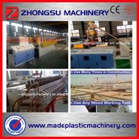 China PVC( WPC) plastic foaming sheet equipment(3-25mm)szsj80/156)
