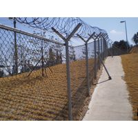 Welded Type Fence/Airport Fence/Security Fence/Construction Road Fence Made in China