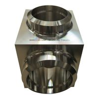 Hi-Precision Forged steel CNC machining Valve Components/Flanges