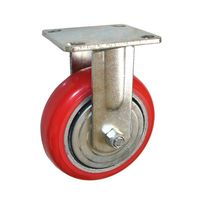 Red Heavy Duty Caster Wheels /  Caster Wheels for the Heavy Equipment
